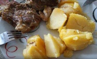 Говядина с картошкой в скороварке