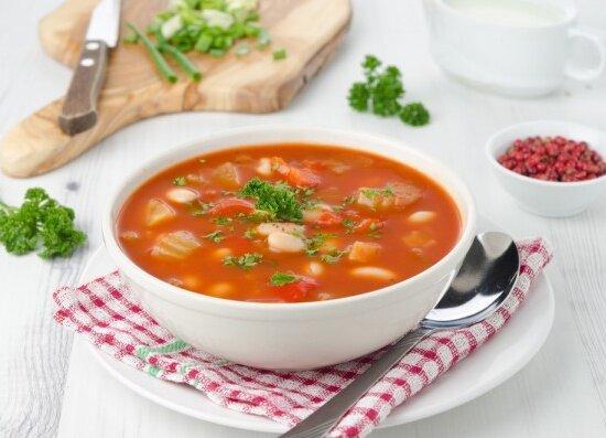 Суп фасолевый в скороварке