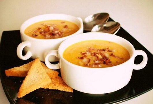 Суп-пюре гороховый в скороварке