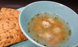 Суп в мультиварке с фрикадельками
